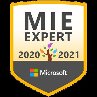 MIEE 2020-2021 正式なバッジが届きました